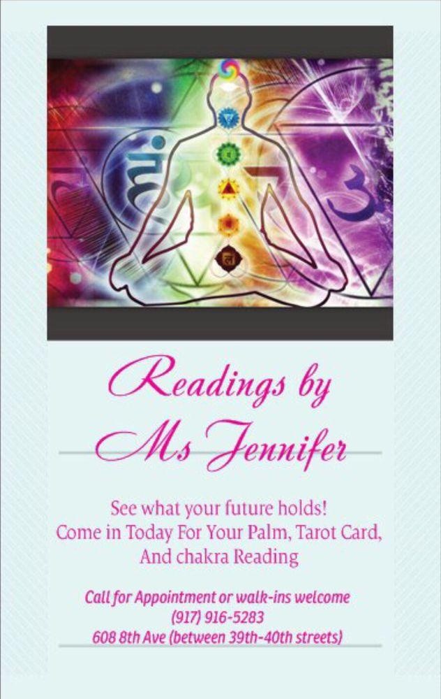 Psychic Readings by Ms Jennifer: 608 8th Ave, New York, NY