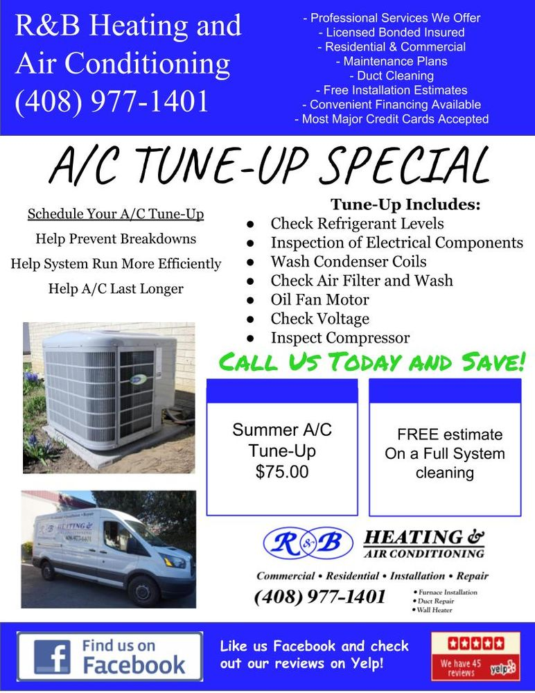 R & B Heating & Air Conditioning