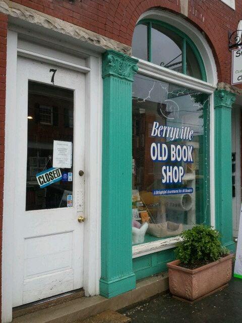 Berryville Old Book Shop: 7 E Main St, Berryville, VA