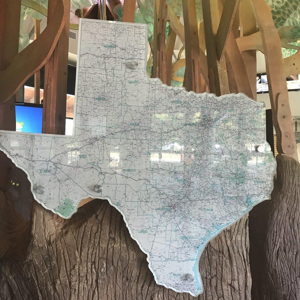 Walker County Rest Area Southbound: 124 Interstate 45, Huntsville, TX