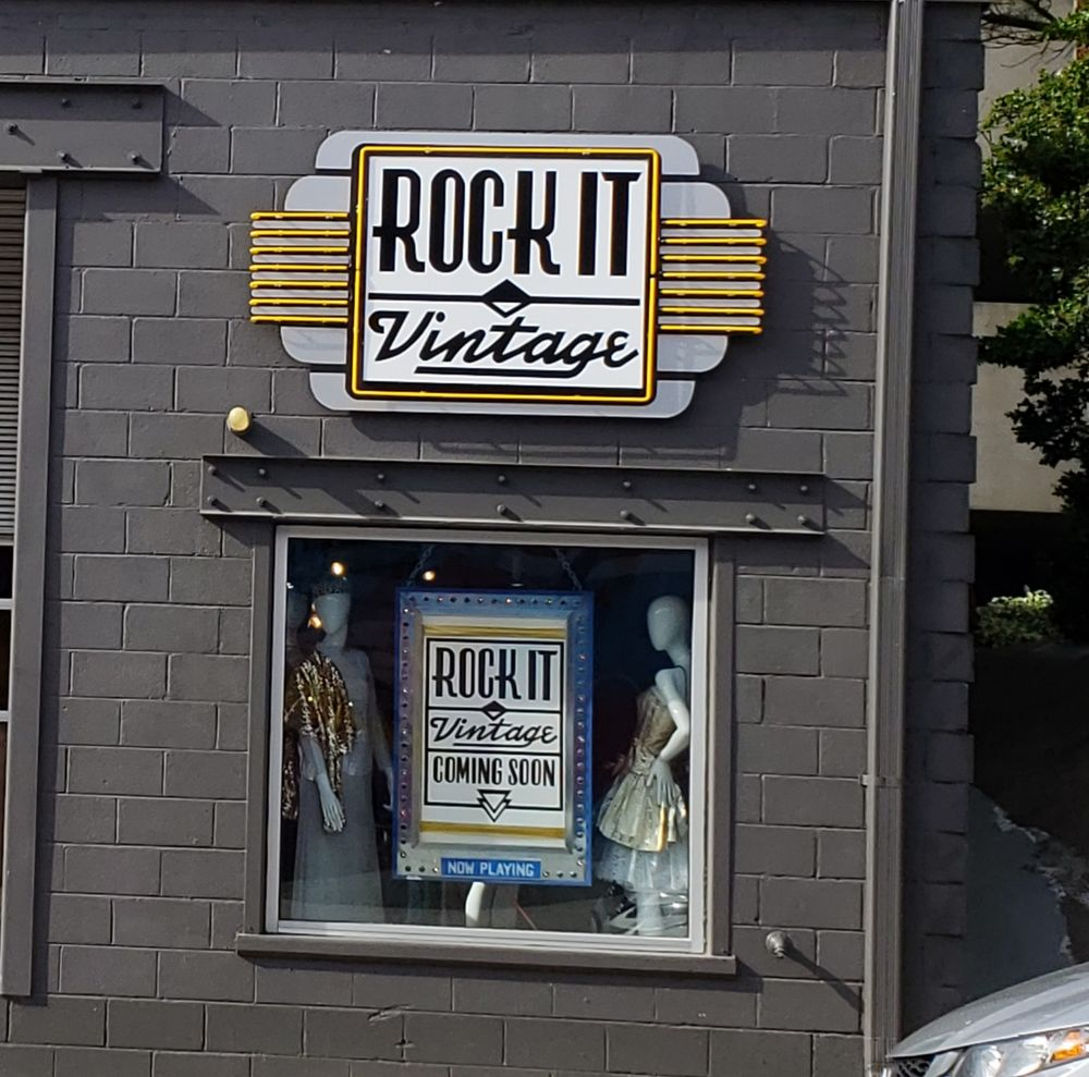 Rock It Vintage: 999 Brady Ave NW, Atlanta, GA