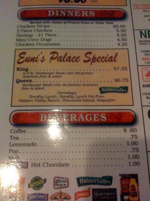 Eunie's Palace: Dixon, NE