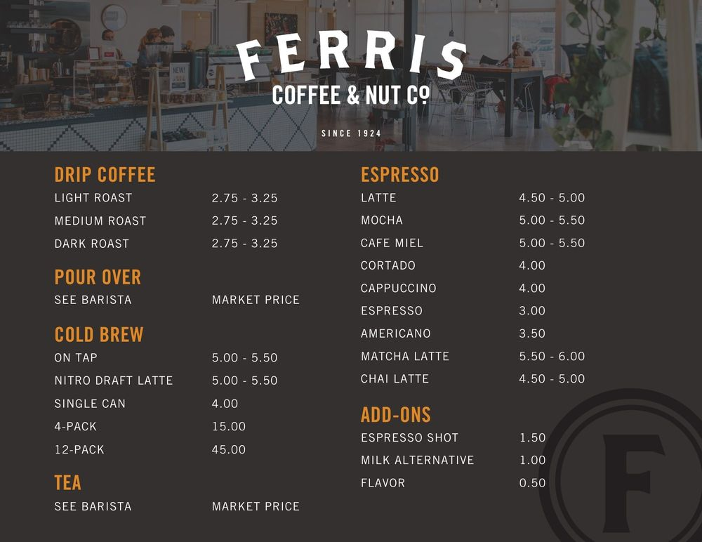 Social Spots from Ferris Coffee & Nut Co.