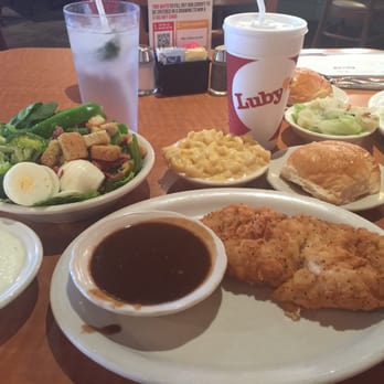 Luby s 63 photos 73 reviews buffet 1743 post oak for Lubys fried fish