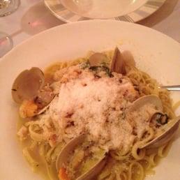 Bellissimo - Montvale, NJ, United States. Linguini with white clam sauce YUMMY!!!