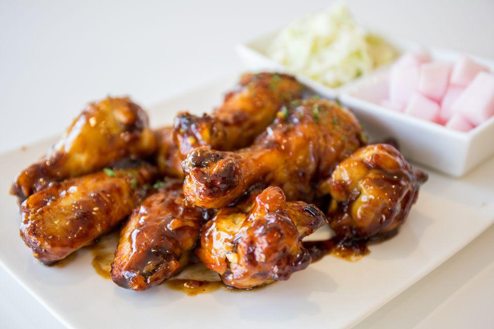Food from Vons Chicken
