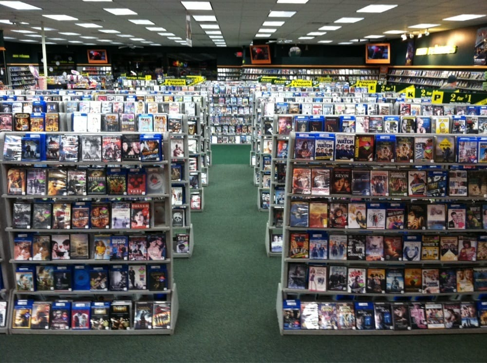 the different types of people you see at a movie rental store