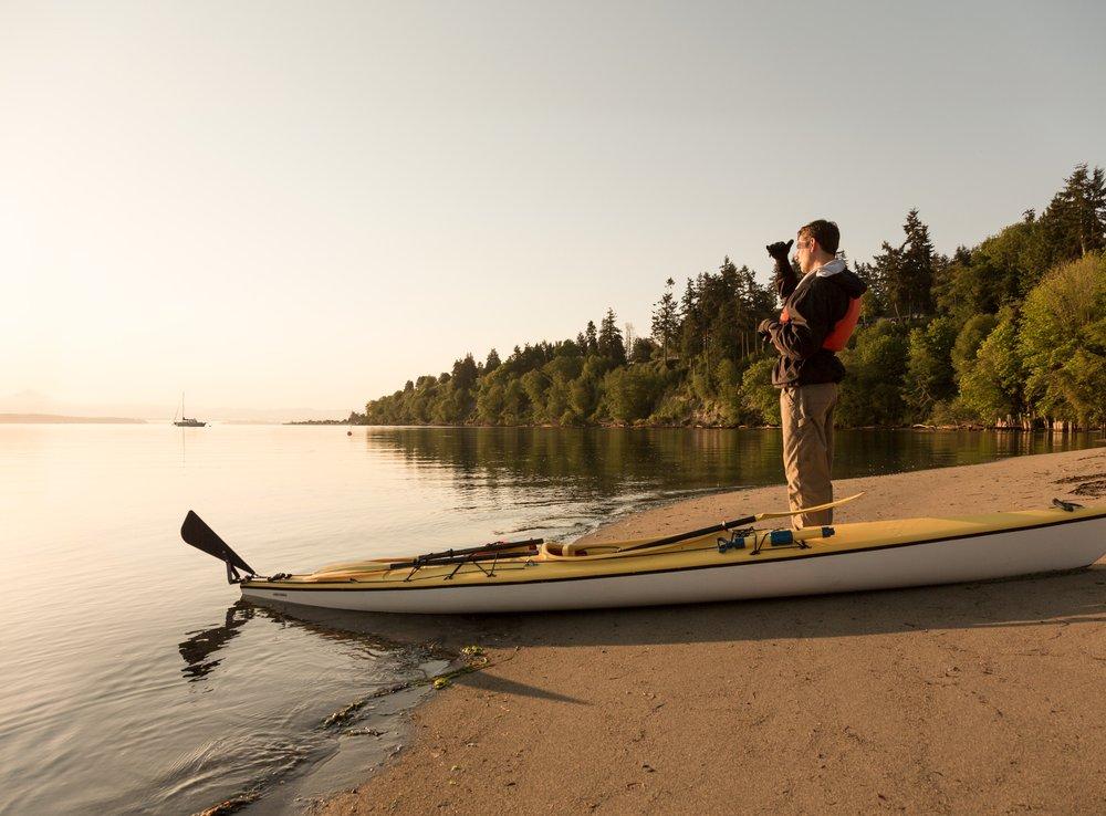 Whidbey Island Kayaking Company: 201 Wharf St, Langley, WA