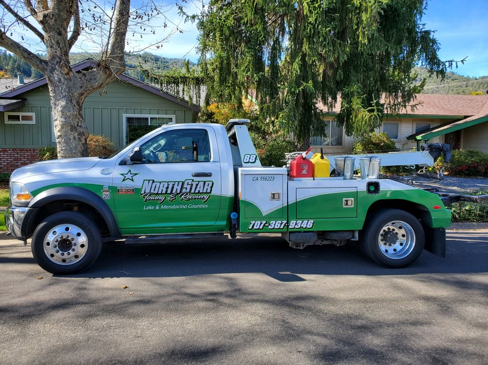 North Star Towing & Recovery: 462 Ave A, Lakeport, CA