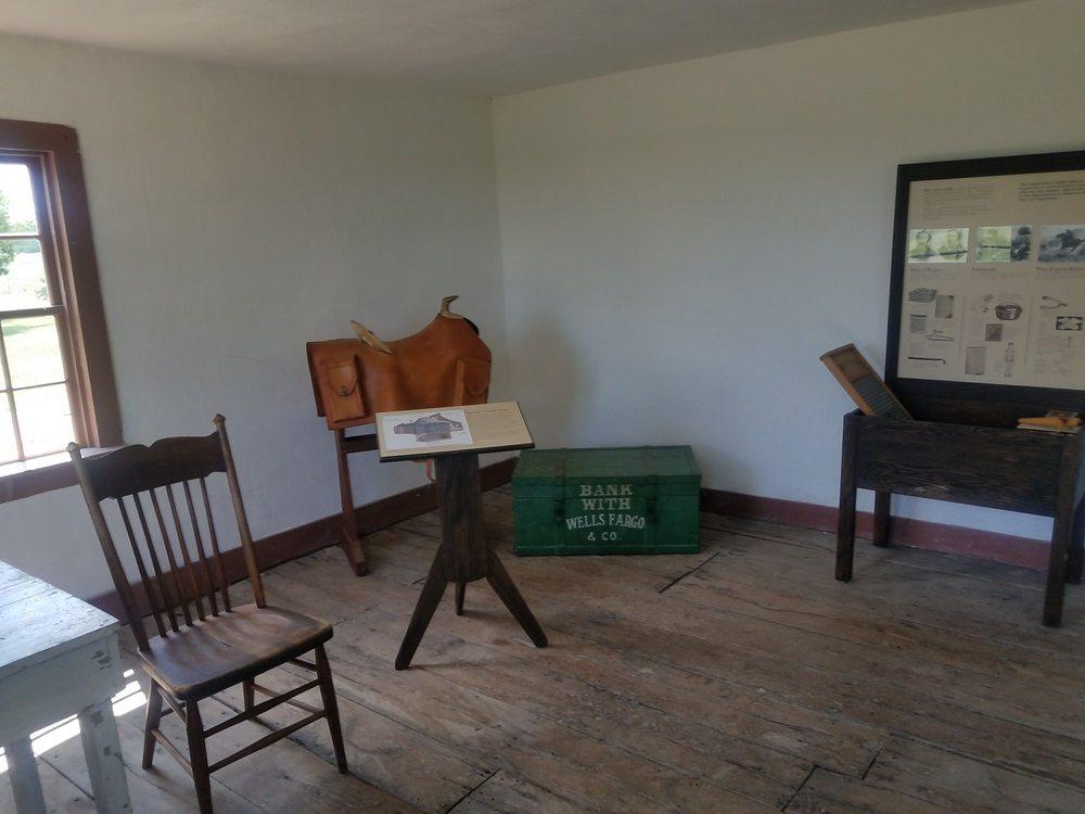 Hollenberg Pony Express Station State Historic Site: 2889 23rd Rd, Hanover, KS