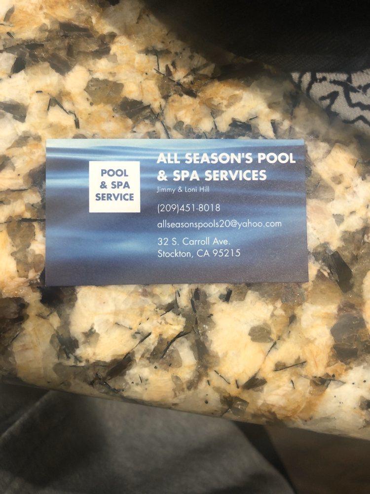 All Season's Pool Service: 32 S Carroll Ave, Stockton, CA