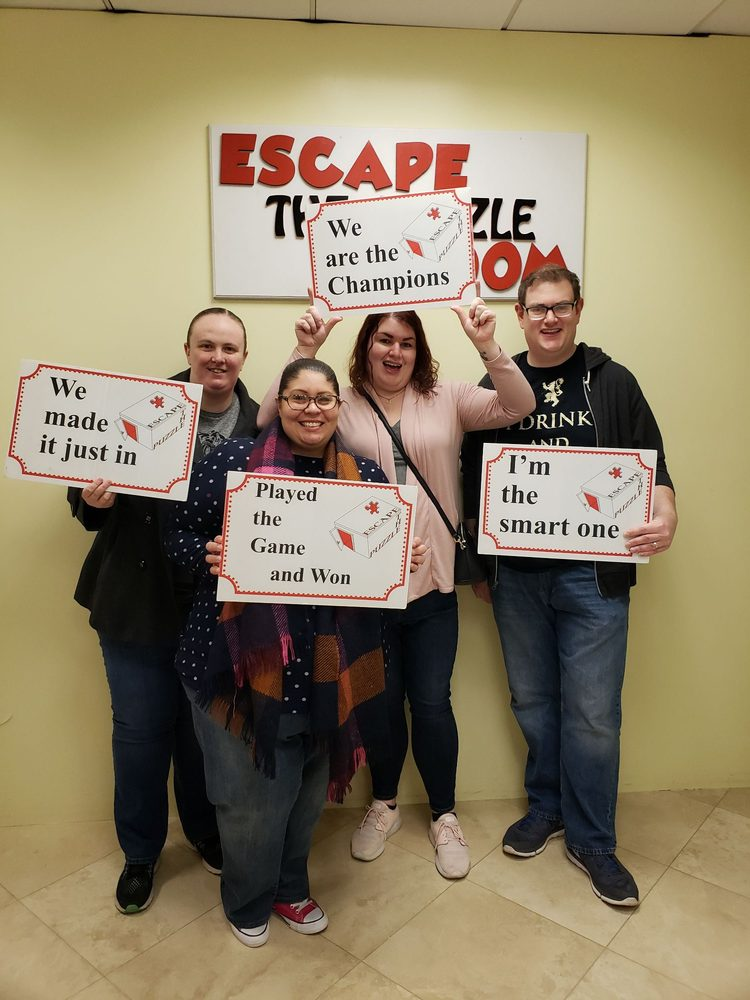 Social Spots from Escape The Puzzle