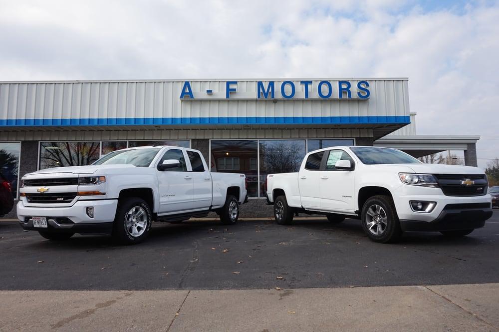 A f motors car dealers 201 s main st adams wi Adams street motors