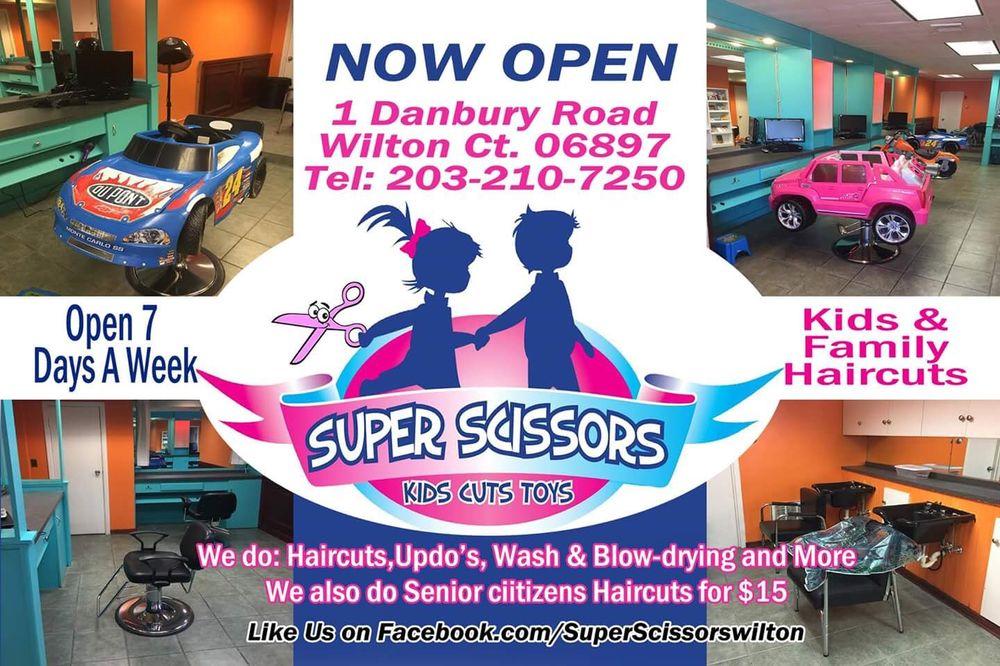 Super Scissors: 1 Danbury Rd, Wilton, CT