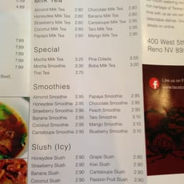 Photos for 101 taiwanese cuisine menu yelp for 101 taiwanese cuisine reno nv