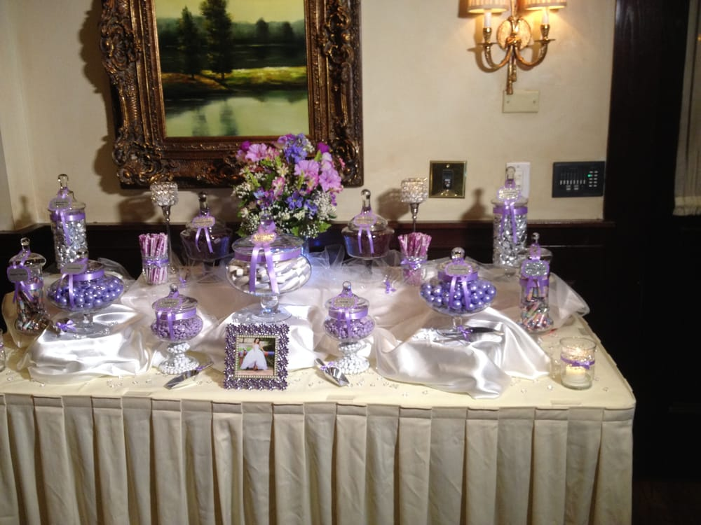 San Antonio Auto Group >> Lavender & Silver Sweet 16 Candy Buffet - Yelp