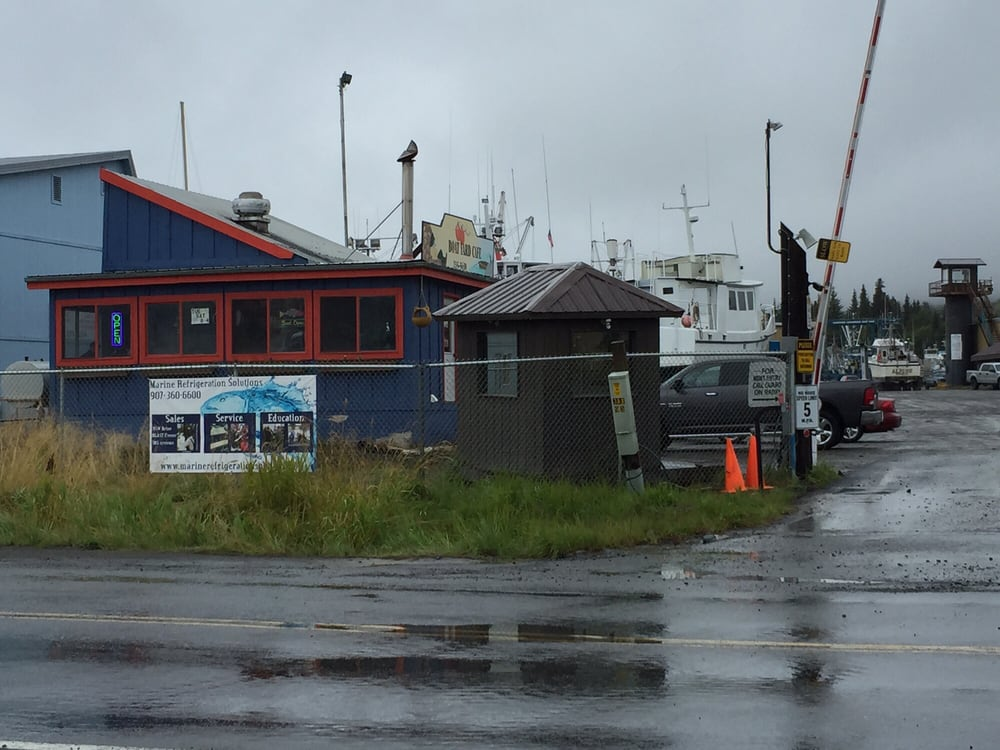 Boatyard Cafe: 41935 Kachemak Dr, Homer, AK