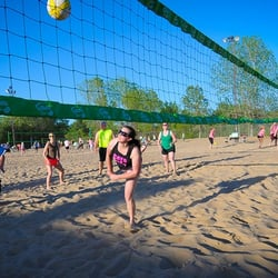 Photo Of Volleyball Beach Kansas City Mo United States In