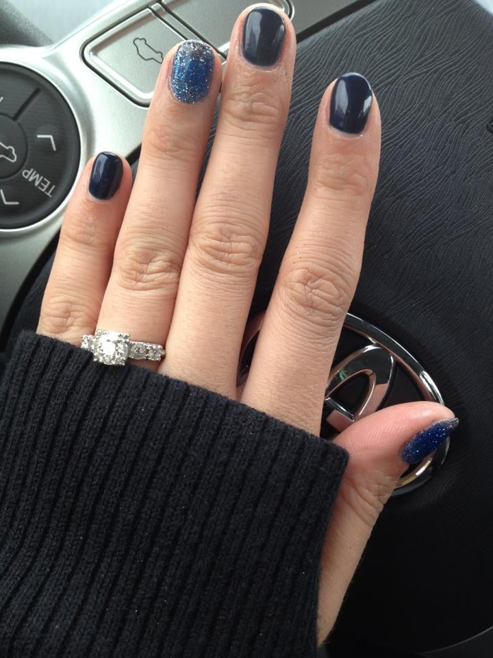 Ombre rockstar night sky nails by Bridget - Yelp