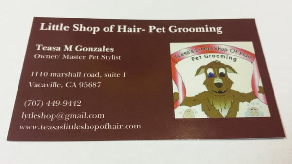 Teasas little shop of hair pet grooming 590 merchant st suite b teasas little shop of hair pet grooming 590 merchant st suite b vacaville ca cats mapquest solutioingenieria Gallery