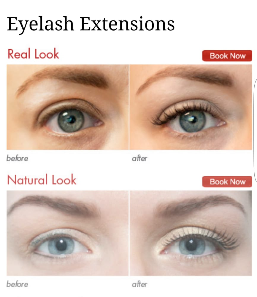 Eyelash Extensions Packages They Advertise On Their Website Yelp