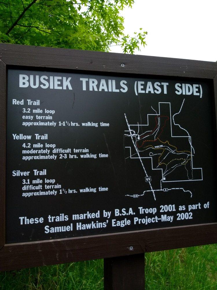 Busiek State Forest: 5 US Rt 65, Highlandville, MO