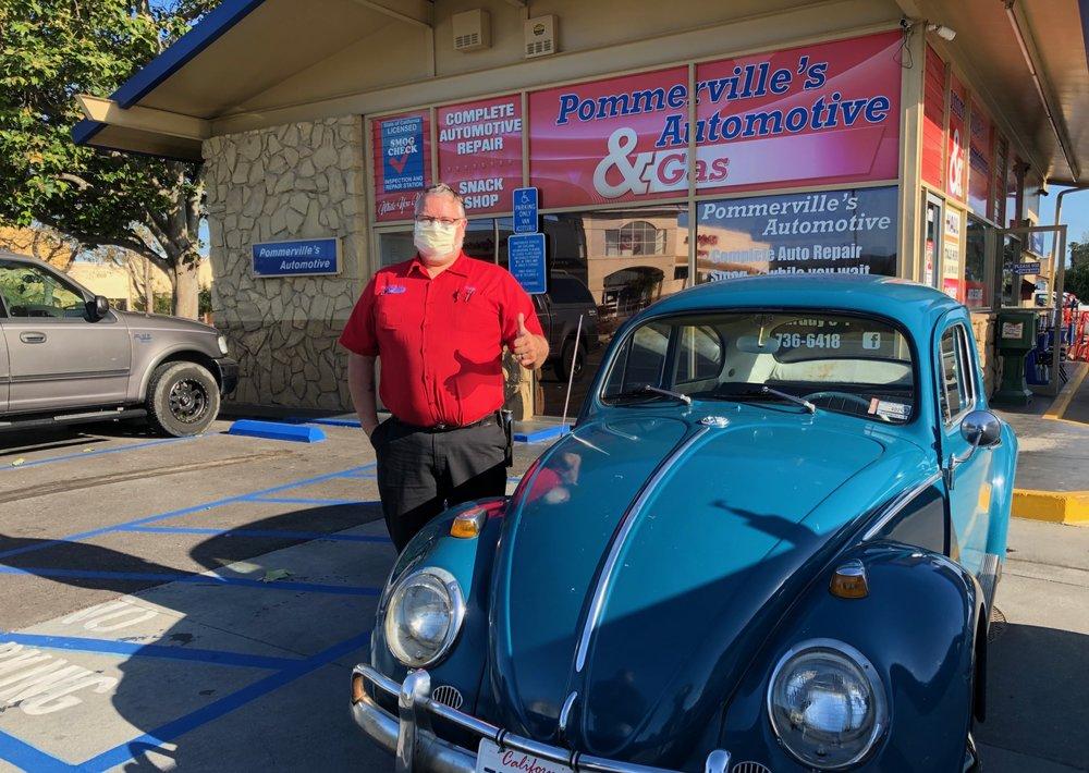 Pommerville's Automotive & Gas: 1001 North H St, Lompoc, CA