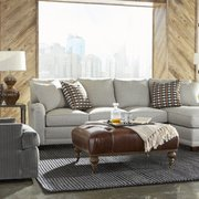 Sectionals With Cuddle Photo Of UBU Home Furnishings   Grandville, MI,  United States. Upholstered Ottomans Available