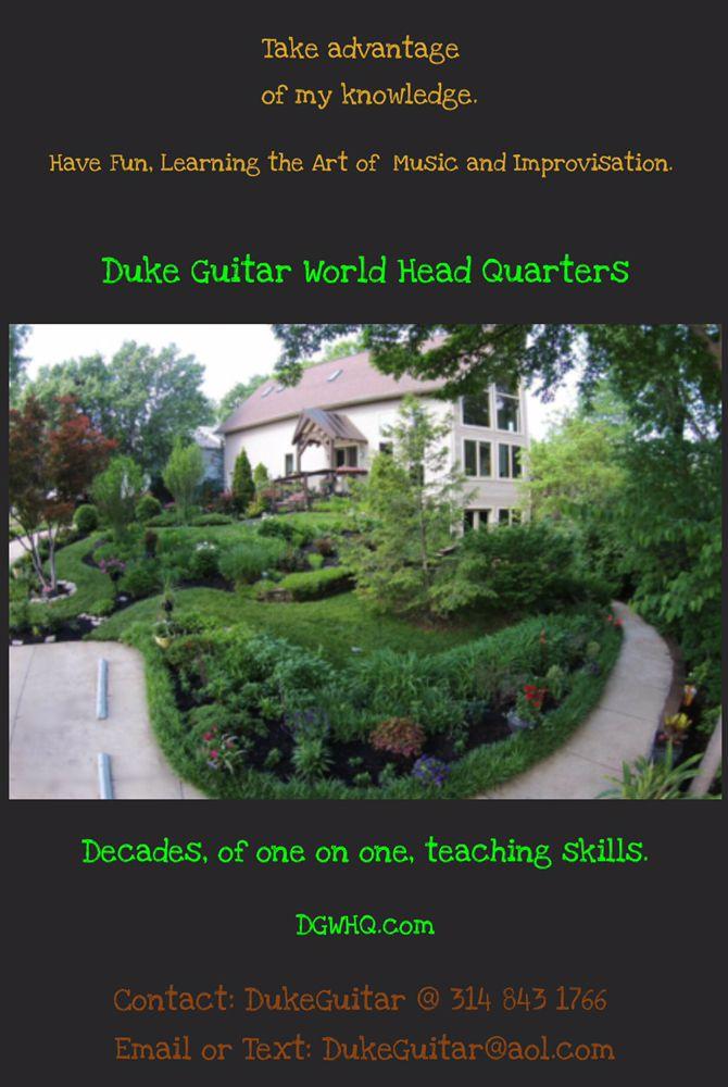 Duke Guitar World Headquarters: Saint Louis, MO