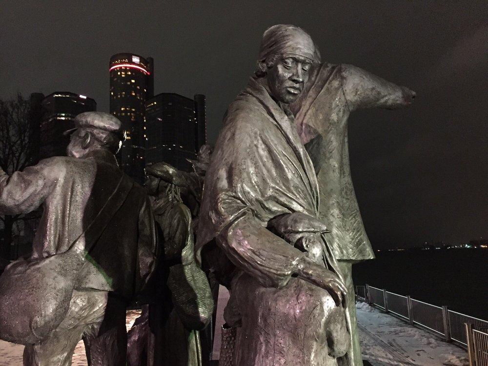 Gateway to Freedom: Hart Plz, Detroit, MI