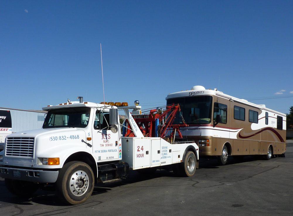 Ron's Tow Service: 197 W Sierra Ave, Portola, CA