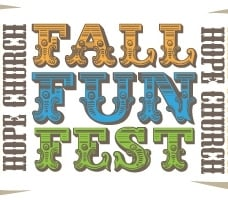 Hope Presbyterian Church Fall Fun Festival