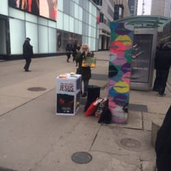 Jesus Guy At Dundas Square 60 Reviews Local Flavor Yonge Street And Dundas Street Ryerson Toronto On Canada Last Updated January 14 2019 Yelp