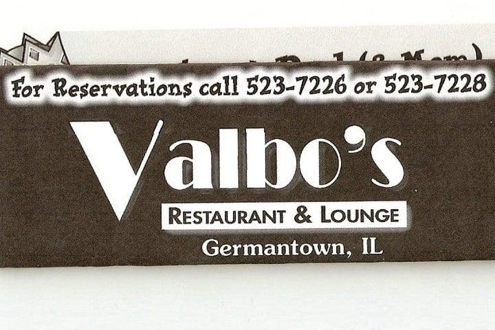 Valbo's Restaurant: 307 Munster St, Germantown, IL