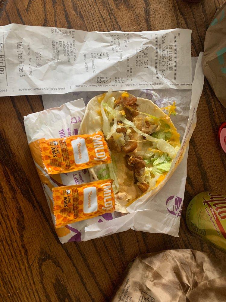 Taco Bell: 9741 S. Enos Ln, Bakersfield, CA