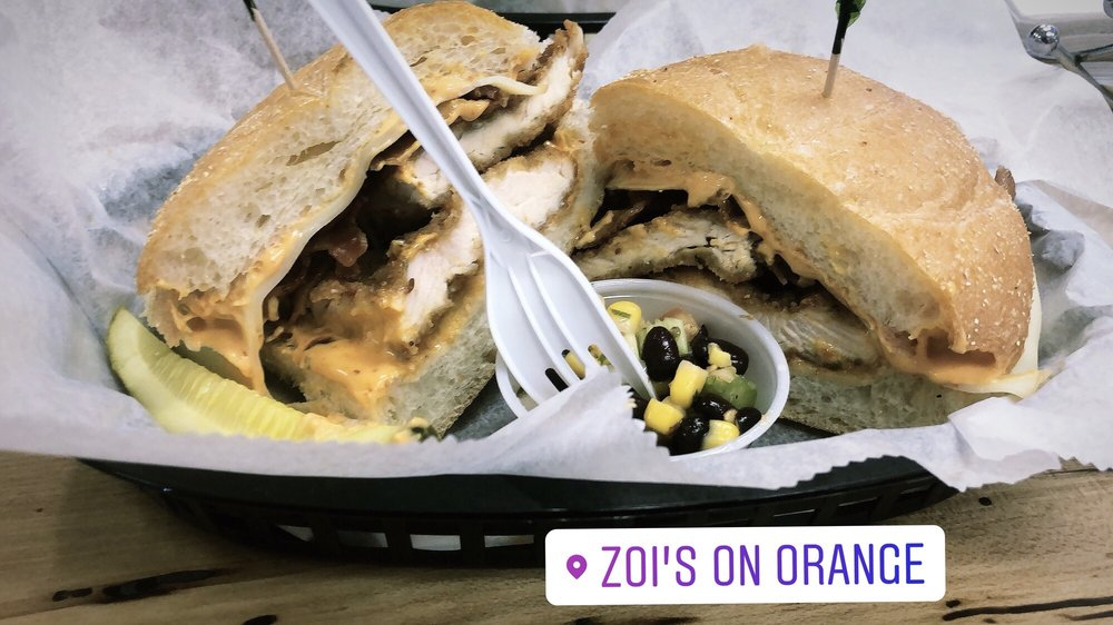 Food from Zoi's New Haven