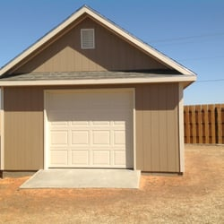 Photo Of Doors Plus   Lawton, OK, United States. Shed Built From Ground