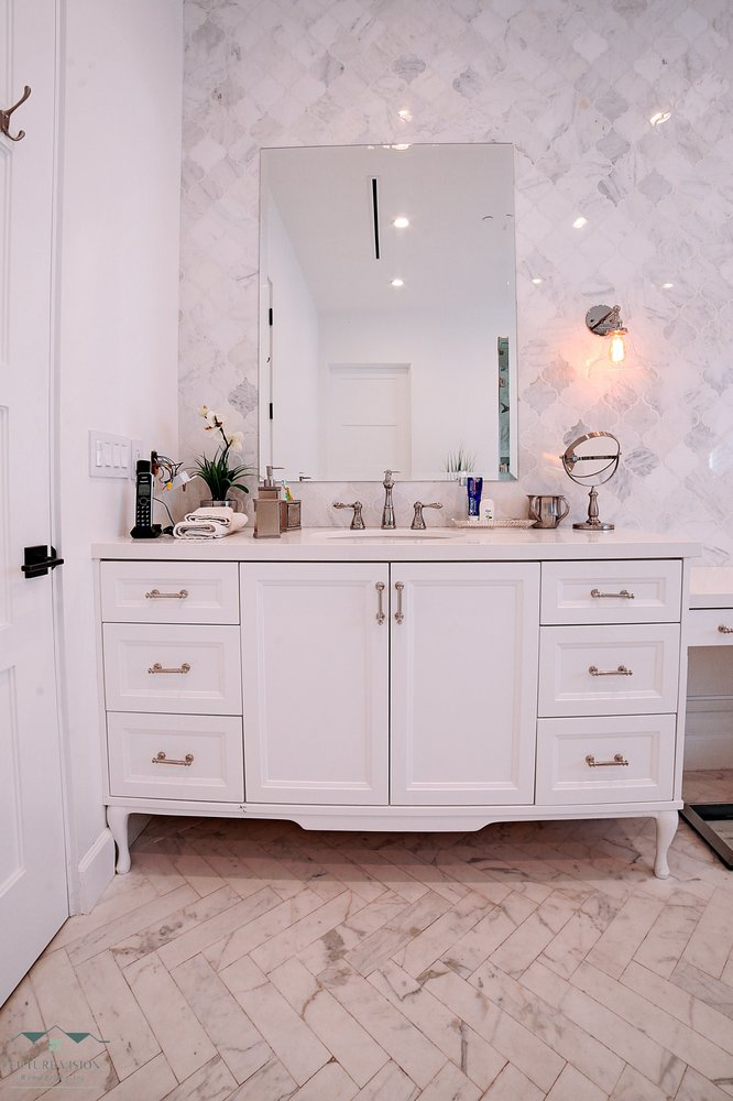 Photo of Future Vision Remodeling - Los Angeles, CA, United States. White Bathroom