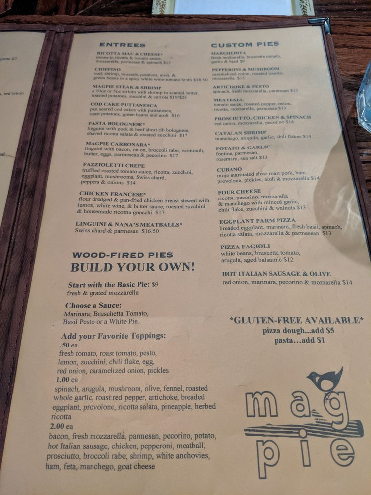 Magpie - 35 Photos & 94 Reviews - Pizza - 21 Bank Row