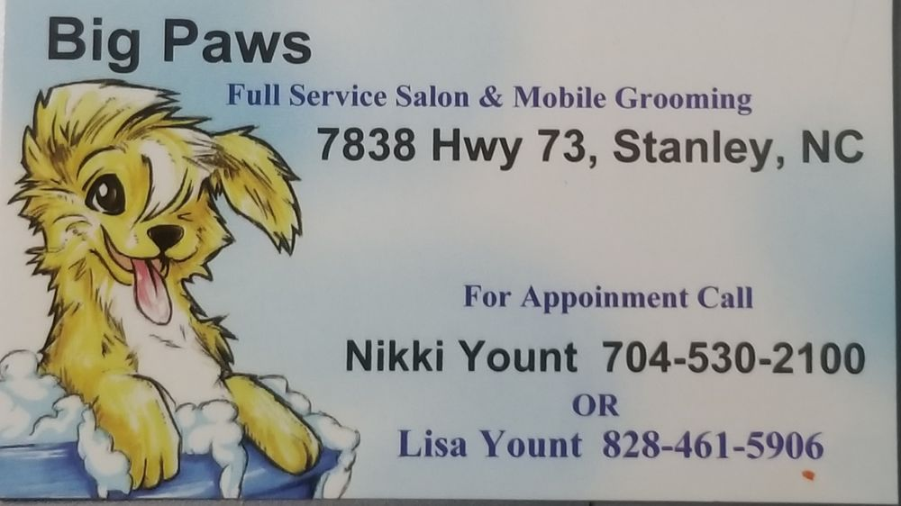 Big Paws Pet Grooming and Mobile service