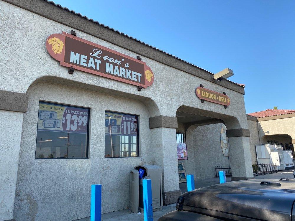 Leon's Meat Market: 65770 Hammnd Rd, Mecca, CA