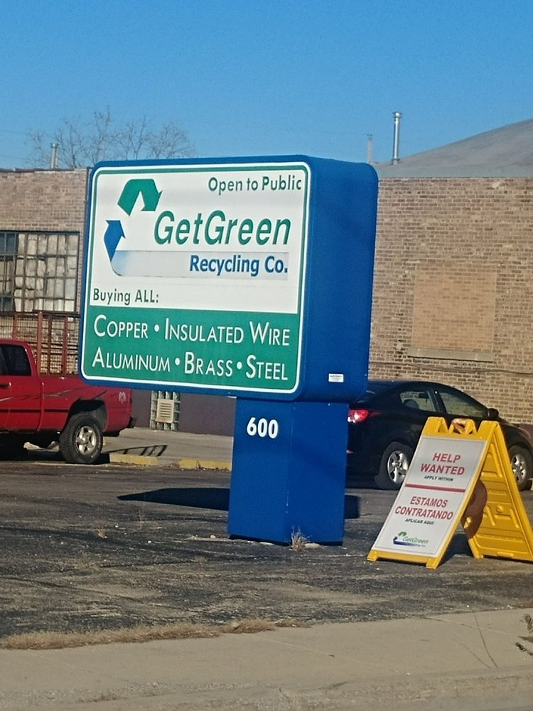 Get Green Recycling - Recycling Center - 600 N Broadway, Aurora, IL ...