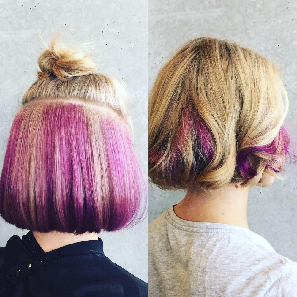 Love Love Love My Purple Under Highlights Yelp