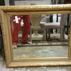 Bon Photo Of The Red Collection   Greensboro, NC, United States. A Gilded Mirror