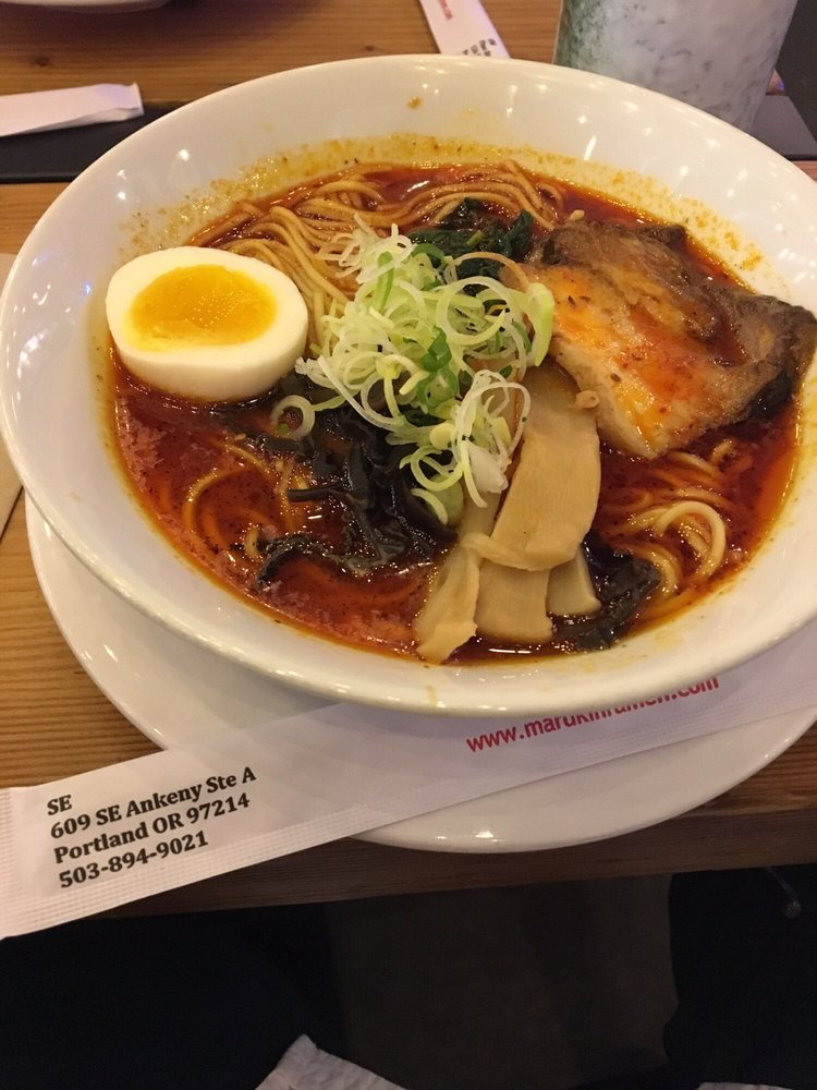 Marukin Ramen: 126 SW 2nd Ave, Portland, OR