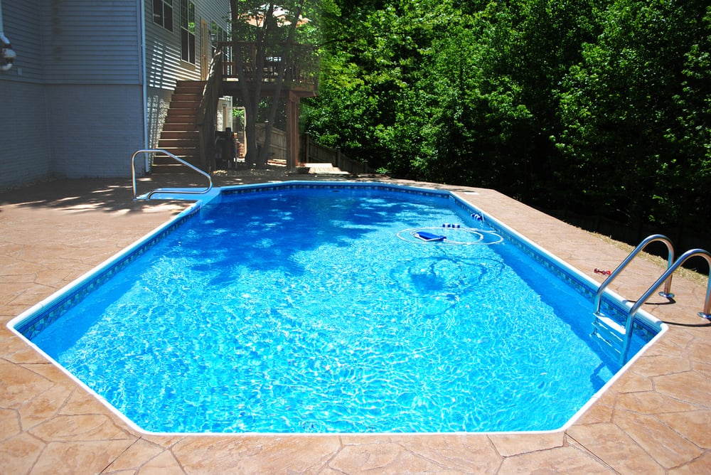 New in ground grecian shaped swimming pool yelp for Grecian swimming pool