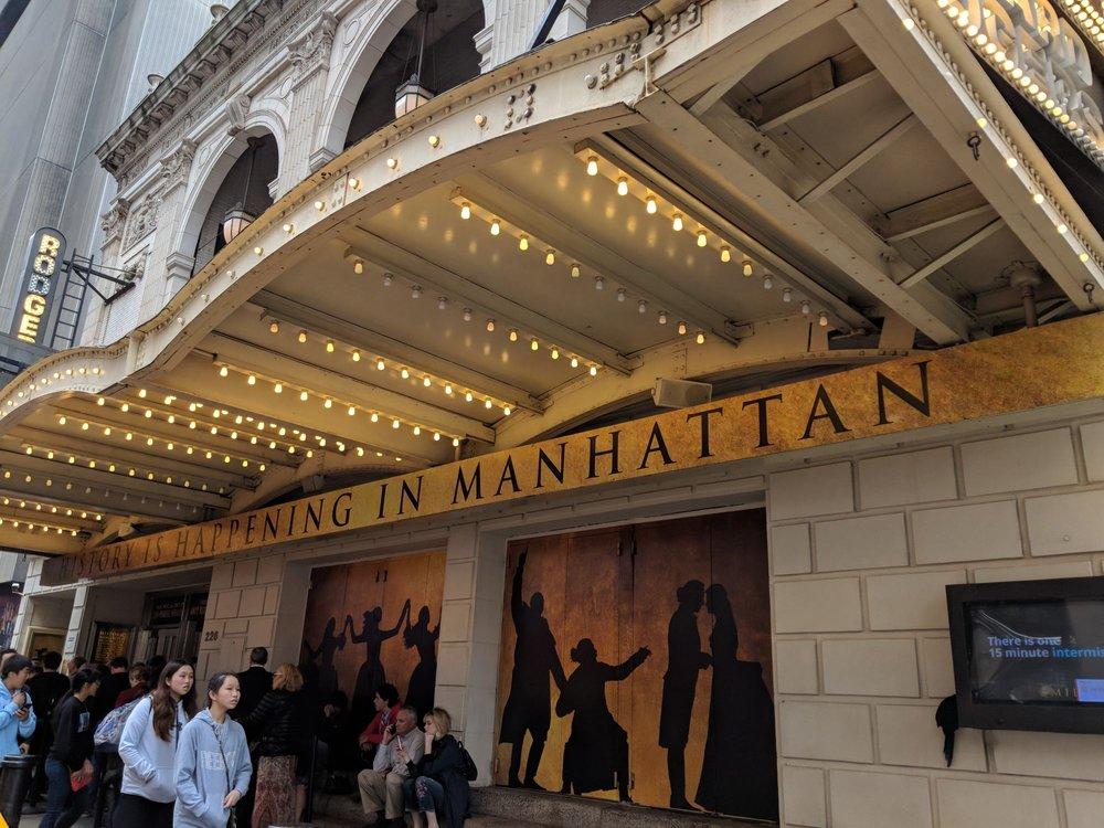 Hamilton the Musical: 226 W 46th St, New York, NY