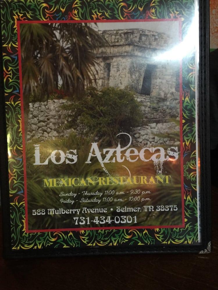 Los Aztecas: 588 Mullberry Ave, Selmer, TN