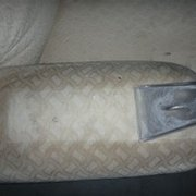 Fabric sofa Photo of Drymaster Carpet Cleaning - Perth - Bayswater Western Australia, Australia. Sofa cleaning