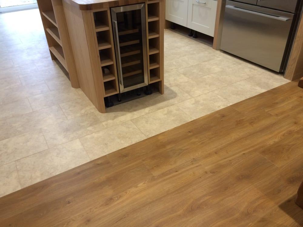 This Is Amtico Spacia Flooring With Bottocino Cream In The